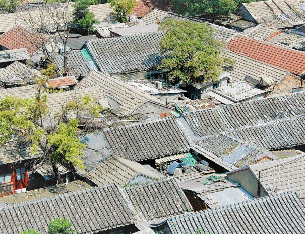 Pekin Hutong Birdview